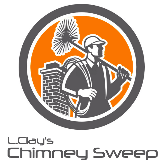 L. Clays Chimney Sweep Logo